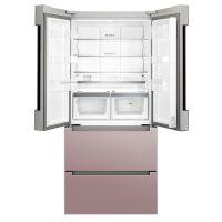 博世(BOSCH)478升 风冷无霜变频四门冰箱 KFN86A166C(玫瑰金)
