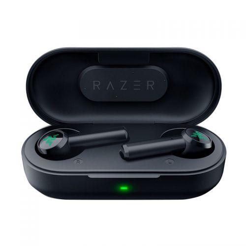雷蛇(Razer)战锤狂鲨真无线入耳游戏耳机运动蓝牙音乐耳机RZ12-02970100-R3C1(黑色)