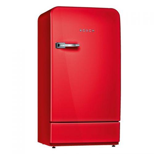 产地德国 进口博世(BOSCH)8系 154升复古单门冰箱 KSL20AR30C(红色)