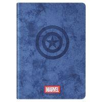 优加 iPad Pro 11英寸 漫威美国队长智能休眠保护套(蓝色)