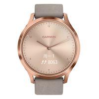佳明(GARMIN)经典版 简约时尚运动智能手表 vivomove HR(玫瑰金)【特价商品,非质量问题不退不换,售完即止】【清仓折扣】