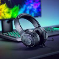 雷蛇(Razer)北海巨妖标准版X耳麦头戴式游戏电竞耳机RZ04-02950100-R3C1(黑色)