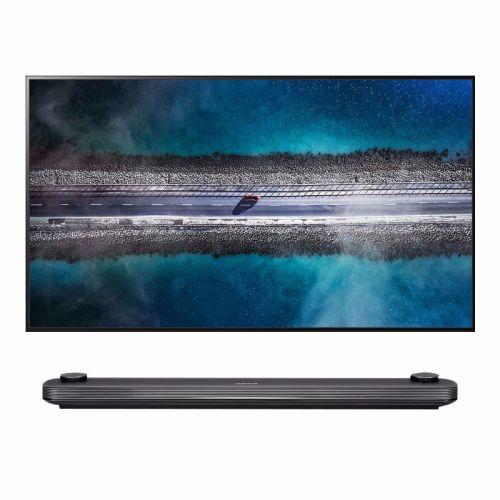LG 77英寸 α9 Gen2芯片 杜比全景声 智能OLED壁纸电视 OLED77W9PCA(黑色)