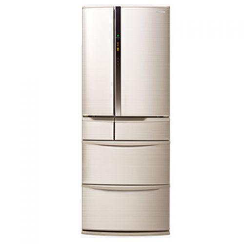 产地日本 进口松下(Panasonic )538升  风冷无霜 六门冰箱NR-F560VT-N5 (香槟金)