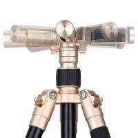 摩米士(Momax)摩米士Tripod Pro 5精英三脚架TRS5L 铝合金直播桌面支架自拍杆微单数码单反相机三角架单脚架(香槟金色)