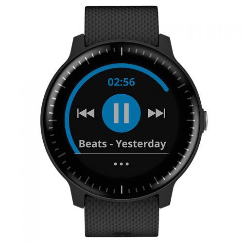 佳明(GARMIN)vivoactive3 音乐版 智能支付运动手表(黑色)