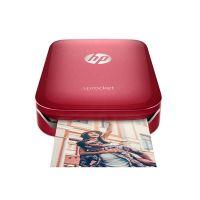 *产地韩国 进口惠普(HP)Sprocket 100 便携式口袋相片打印机(红色)限量版