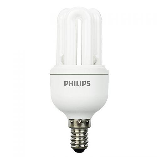 飞利浦(Philips)8W紧凑型光源小口节能灯 E14 白光