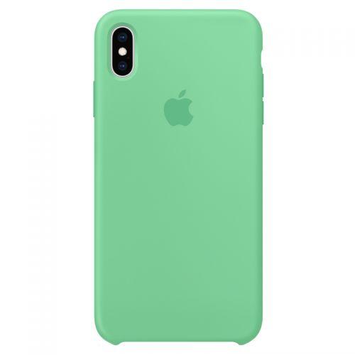 Apple iPhone XS Max 硅胶保护壳MVF82FE/A (留兰香绿色)【特价商品,非质量问题不退不换,售完即止】【清仓折扣】