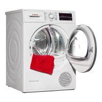 产地波兰 进口博世(BOSCH)9公斤 干衣机 WTW875600W(白色)