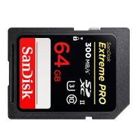 闪迪(SanDisk)64GB SD存储卡 U3 C10 4K SDSDXPK-064G-ZN4IN(黑红色)