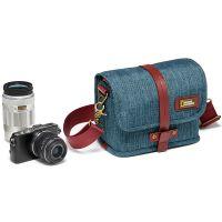 产地越南 进口国家地理(National Geographic)澳大利亚系列 NG AU 2250 微单单肩相机包 / 腰包(蓝色)
