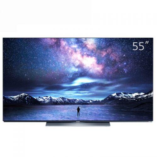 创维(Skyworth)55英寸 4K高清OLED智能电视 55S81(银灰色)
