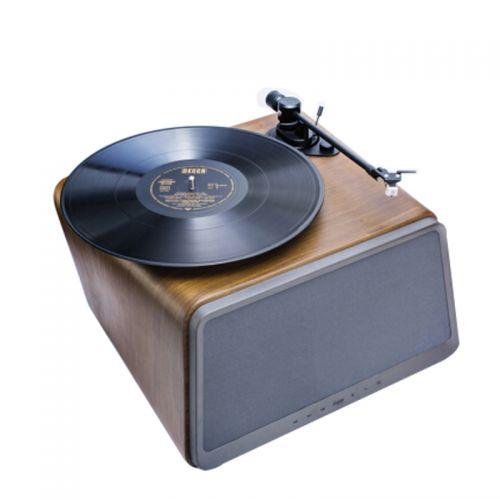 嘿哟(HYM)HYM-Seed 黑胶唱片机 蓝牙智能音响(胡桃木色)