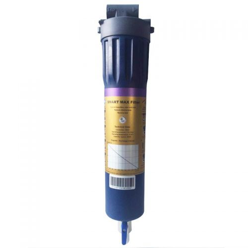 产地德国 进口汉斯希尔 强效除铅L系列三合一反冲型净水器 WS-7315-10-733(琥珀蓝)【仅限县级城市上门安装】