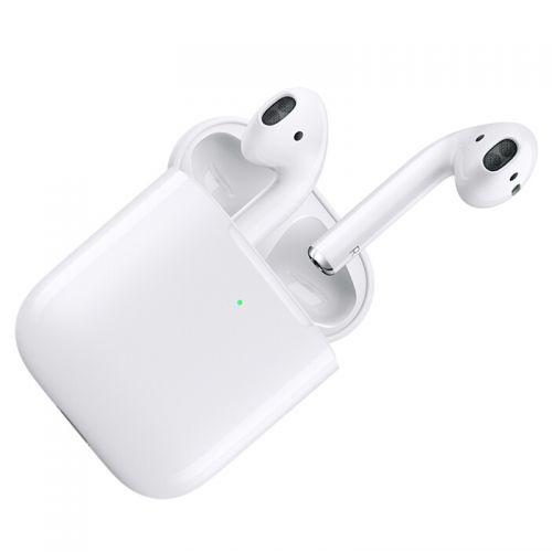 【火爆销售】Apple AirPods 2019新款苹果蓝牙耳机 H1芯片 配有无线充电盒MRXJ2CH/A