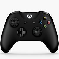 微软(Microsoft)Xbox无线控制器+无线适配器(黑色)4N7-00006