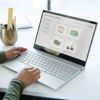 惠普(HP)薄锐ENVY 13.3英寸笔记本电脑(i5-8265U 8G 360GB IPS)银色 13-ah1002TU