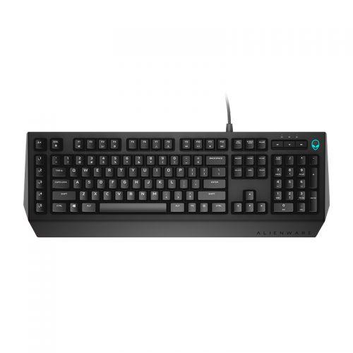 外星人(Alienware)有线游戏键盘AW568(黑色)