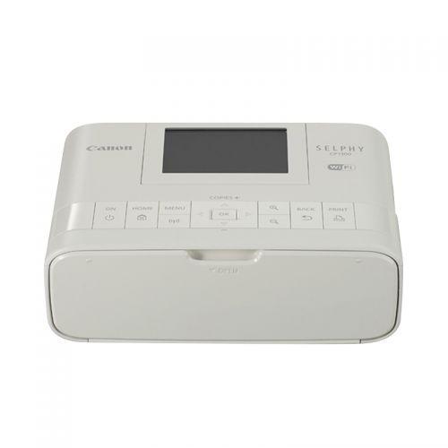 佳能(Canon)SELPHY CP1300 小型照片打印机 (白色)