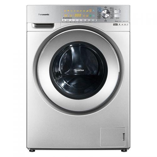 松下(Panasonic)罗密欧系列 10公斤 带烘干 滚筒洗衣机 XQG100-EG128 (银色)