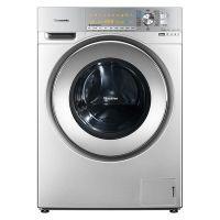*松下(Panasonic)罗密欧系列 10公斤 带烘干 滚筒洗衣机 XQG100-EG128 (银色)
