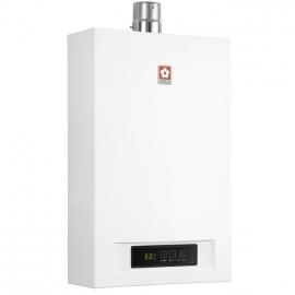 樱花(SAKURA)16升 智能恒温速热 强排式 天然气热水器 SCH-16E58T(白色)