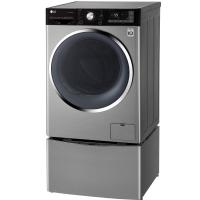 LG 13.2公斤同步分类洗滚筒烘干一体洗衣机 WDQH451B7HW(碳晶银)