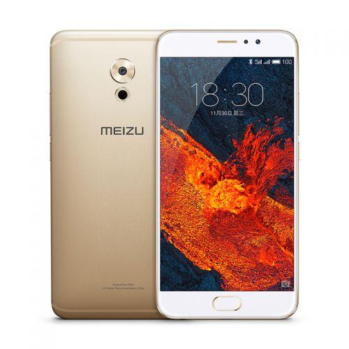 魅族MEIZU Pro6 Plus  4GB+64GB  移动联通4G娱乐手机(香槟金)   【不支持货到付款】