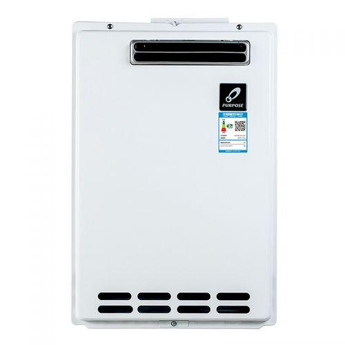 产地日本 进口百富士(PURPOSE)26升 背排式 天然气热水器 GS-2600W-CH(室外安装)