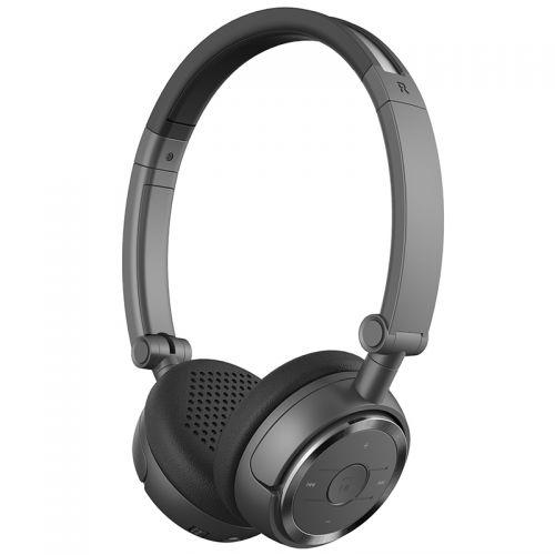 漫步者(EDIFIER)蓝牙耳麦 无线蓝牙耳机 W675BT (黑色)