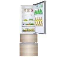 卡萨帝(Casarte)360升 干湿分储 三门冰箱BCD-360WDCAU1(香槟金)