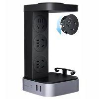 公牛(BULL)智立方带WIFI遥控USB立式插座GN-F1331(黑色)