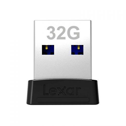 雷克沙(Lexar)32GB USB3.1 迷你车载U盘 S47 LJDS47-32GABBK(银色)