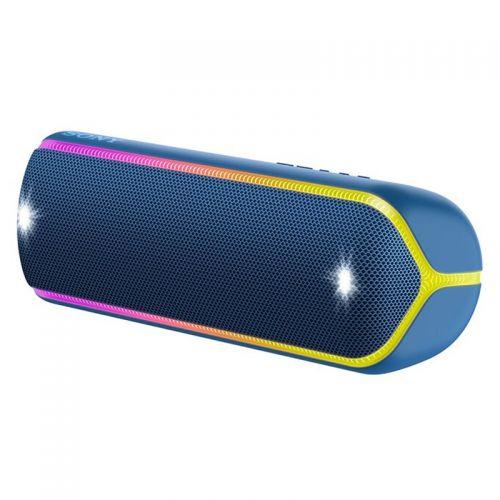 索尼(SONY)防水重低音便携无线扬声器 SRS-XB32/LCCN(蓝色)