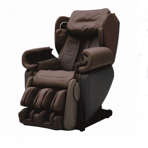 乔山(JOHNSON)4D 拟真人按摩 免安装按摩椅 MR-J6900(棕色)