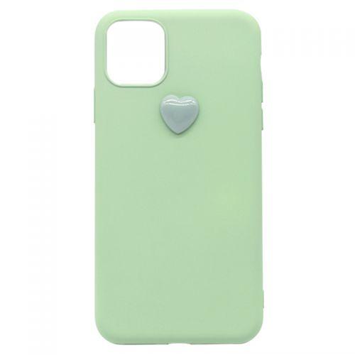 IPearl iPhone 11 pro逸趣立体爱心手机壳5.8英寸(爱心绿)