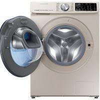三星(SAMSUNG)10公斤 洗烘一体滚筒洗衣机 WD10N64GR2G/SC(金色)