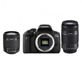 产地日本 进口佳能(Canon)EOS 750D 单反相机 双头套机(55-250&18-55)