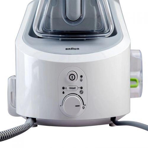 博朗(Braun)压力式蒸汽电熨斗 IS3022(白色)【特价商品,非质量问题不退不换,售完即止】【清仓折扣】