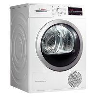 产地波兰 进口博世(BOSCH)9公斤 热泵式干衣机 WTW875601W(白色)