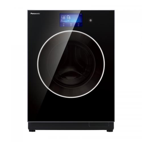 松下(Panasonic)10公斤带烘干滚筒洗衣机XQG100-SD128(黑色) WiFi控制