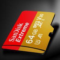 闪迪(Sandisk)64G TF卡 micro SDHC/micro SDXC /UHS-1(带卡套)SDSQXNE-064G-ZN6MA