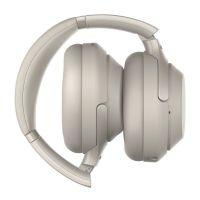 产地马来西亚 进口索尼(SONY)头戴式无线降噪耳机WH-1000XM3(铂金银)