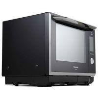 松下(Panasonic)30升 变频微波炉 双层微蒸烤箱一体机 NN-CS1000 (黑色)