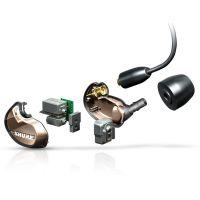 舒尔(Shure)无线蓝牙运动监听耳机 SE535(碳金色)