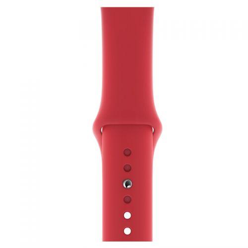 Apple 40毫米运动型表带 MU9M2FE/A(红色)【特价商品,非质量问题不退不换,售完即止】【清仓折扣】