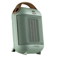 德龙 (Delonghi)冷热两用 陶瓷加热 台式迷你暖风机 HFX30C18.GR(薄荷绿)