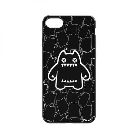 *萌奇  iPhone 7魔鬼猫手机壳(时尚黑)