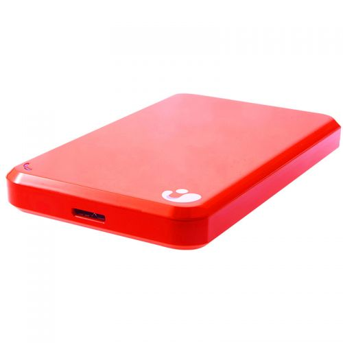 艾比格特 1TB 移动硬盘_移动存储设备 2.5英寸 USB3.0 IBSP6291(红色)